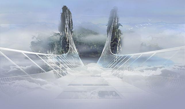 glass bottom bridge