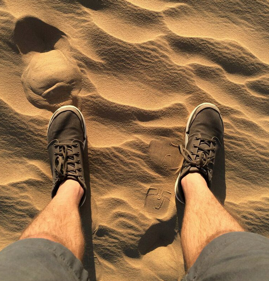 shoes-in-desert-sand