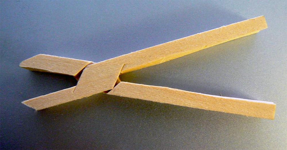 wooden-pliers