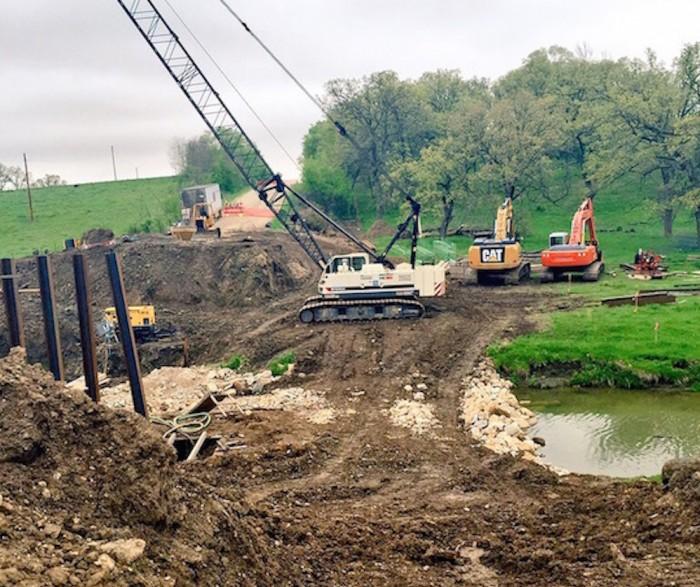 Construction site Sautrday AM