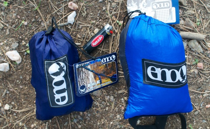 Eno hammock and straps