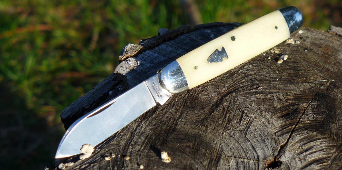 Indian River Jackknife Traditional Look Modern Metal
