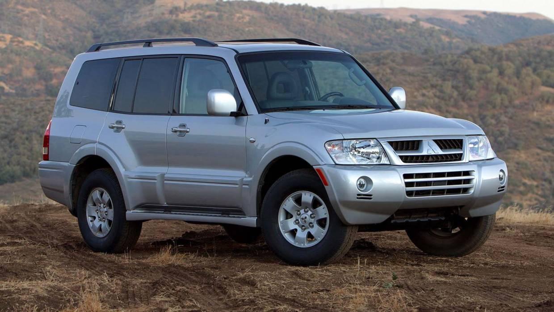 Mitsubishi Montero adventure vehicle