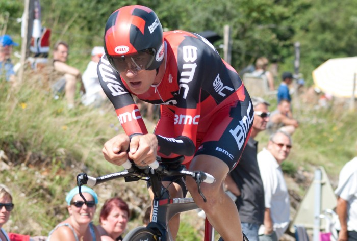"""""""Tejay van Garderen by Ludovic Péron Licensed under CC BY-SA 3.0 via Wikimedia Commons"""