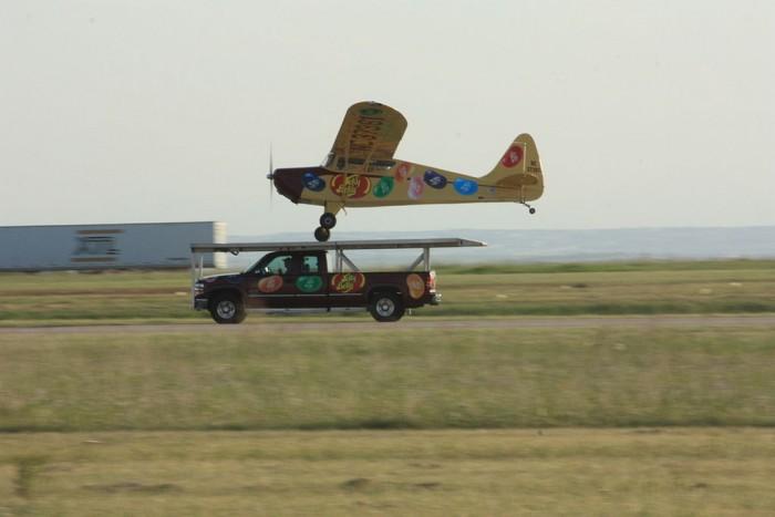 airplane and silverado