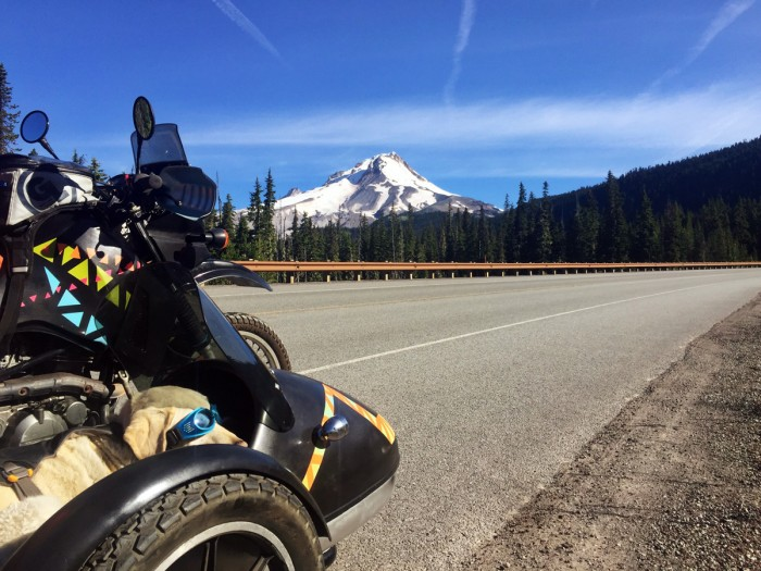 alaska highway motorcycle