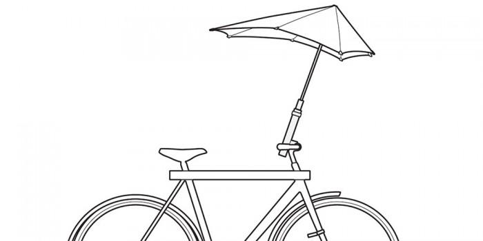 bike umbrella holder