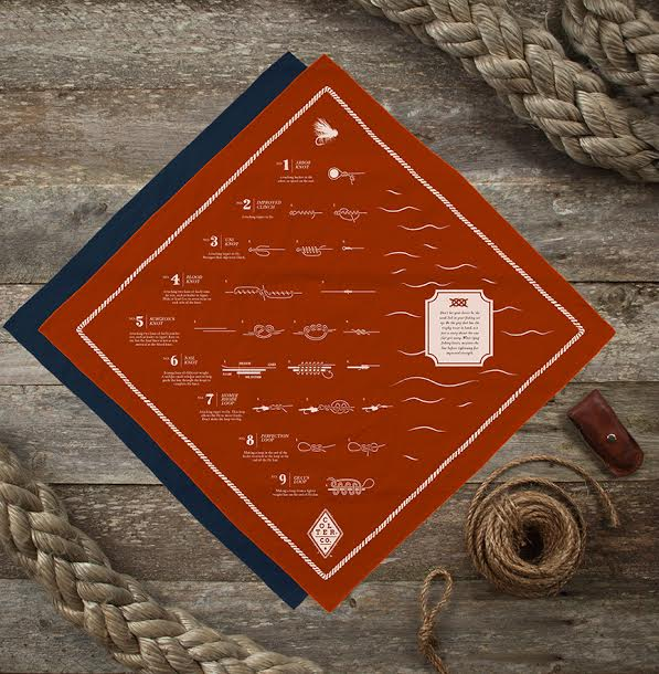fly fishing bandana