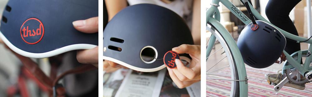thousand bike helmet lock hole