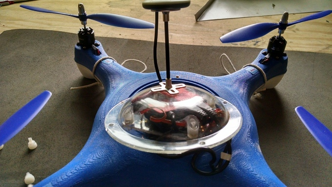water proof drone fish finder