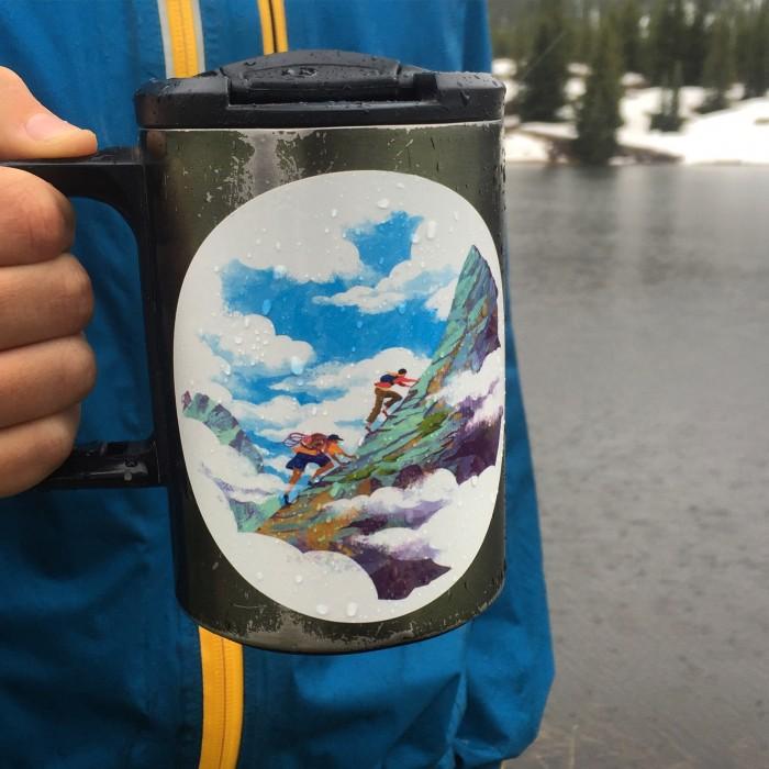 1. Alpine Climb sticker
