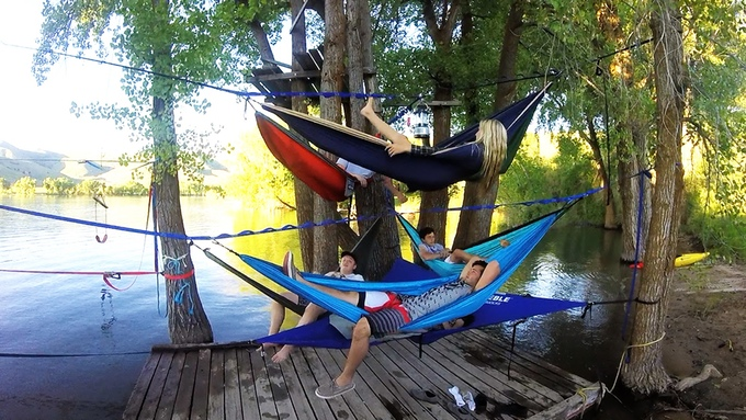 Double Stacked Tree-O Hammock Frame