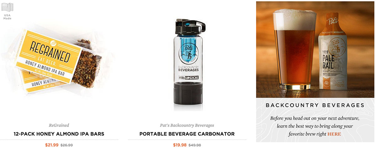 Deals On Summer Hiking Gear At The Huckberry/GearJunkie Shop - Beer