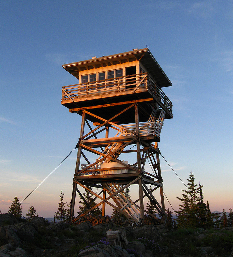Garver Mountain lookout