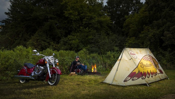 Indian Motorcycles Tent