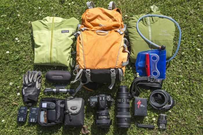 The LowePro Photo Sport 200 AW has room for camera gear and more