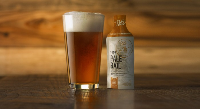 Pat's Backcountry Beverages Pale Rail - Outdoor Food Startups