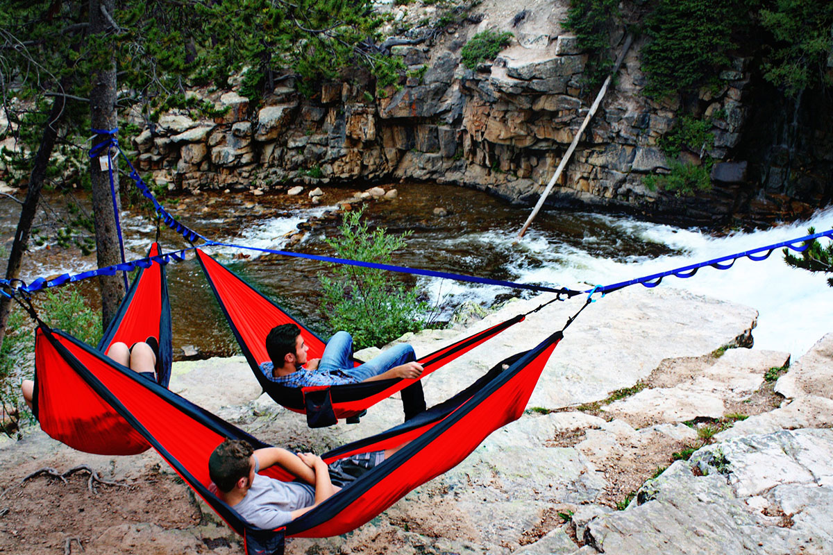 Tree-O Hammock Frame Group Hang