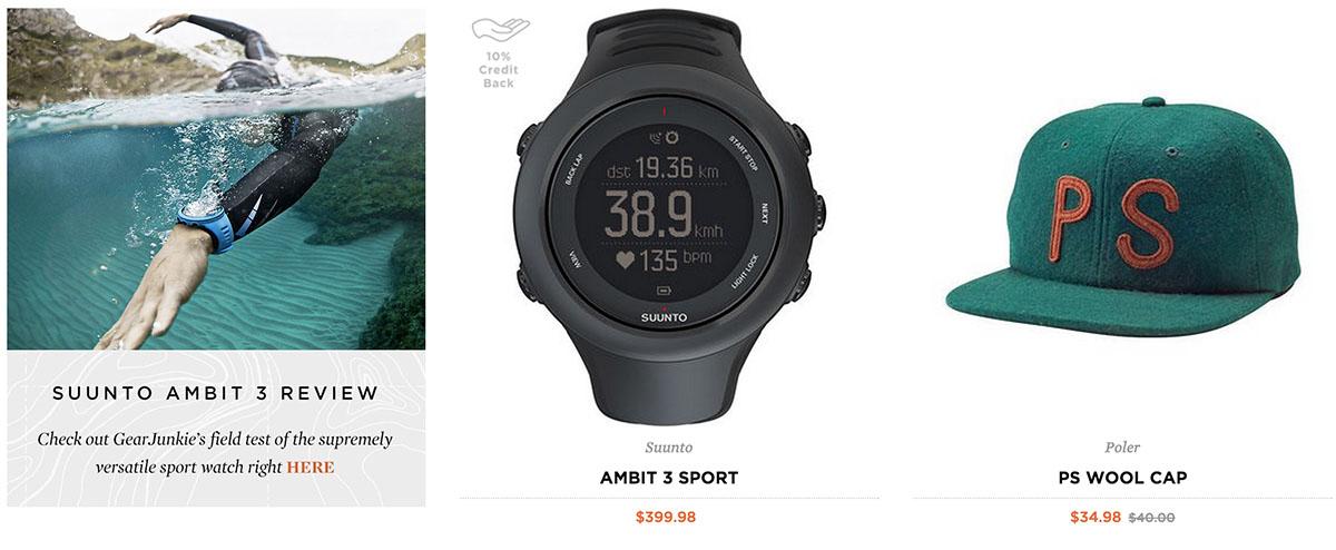 Deals On Summer Hiking Gear At The Huckberry/GearJunkie Shop- Watch
