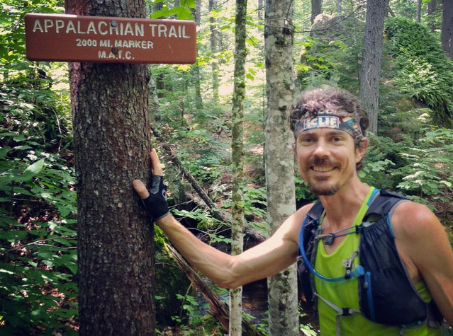 scott jurek at trail