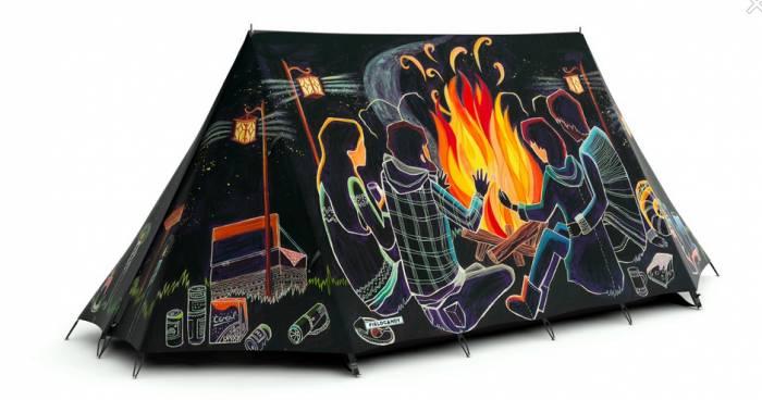 campfire tent 2