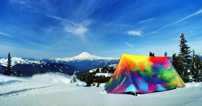 grasslands tent