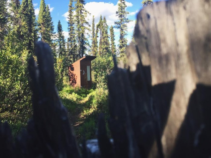 Alaska Outhouse