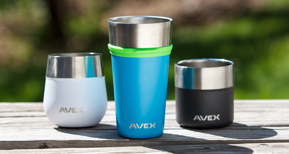 Avex Insulated Stainless Steel Sprits Line