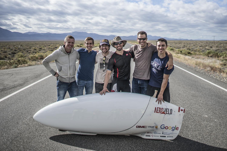 Aerovelo team