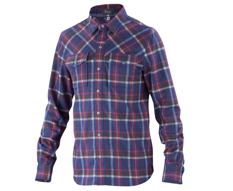 New Take On Old Flannel - Ibex Taos Plaid Shirt ($195): Ibex Taos