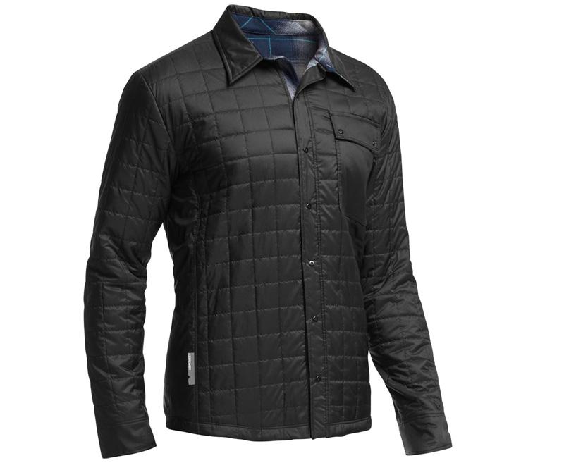 Best Flannels 2017: Quilted Merino Jacket -Icebreaker MerinoLOFT Helix