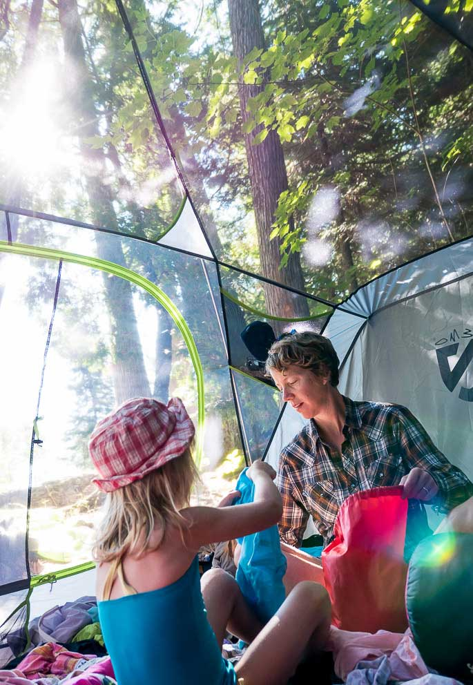 It takes two seconds t Nemo-Bungalow-Tent & Family Tent: The Nemo u0027Bungalowu0027 Review