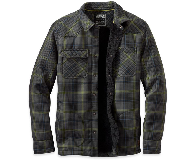 Best Flannel 2017: Outdoor Research Sherman Jacket