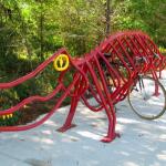 Aligator rack. Six Mile Cypress Slough Preserve in Lee County, FL.