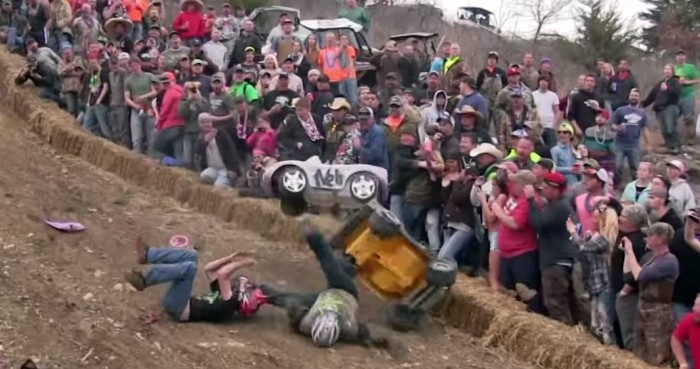 extreme barby jeep race