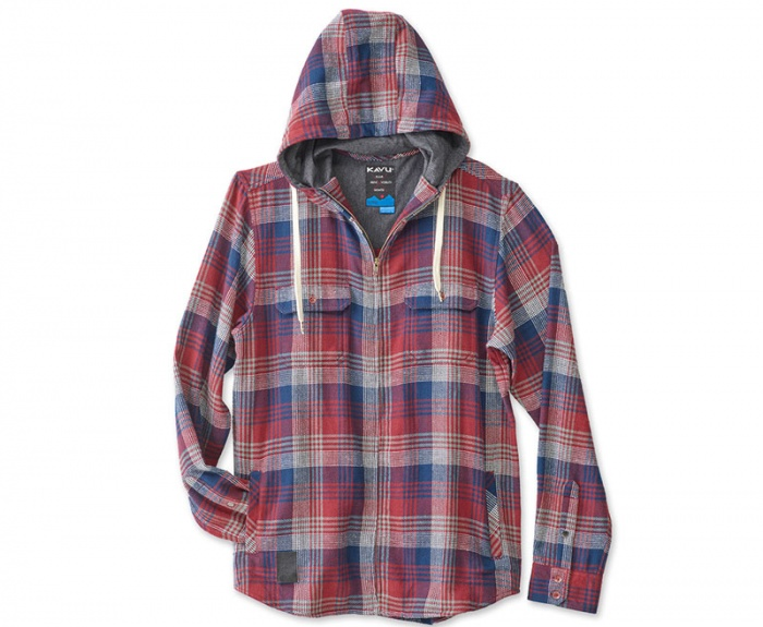 Best Flannel 2017: A hooded flannel shacket from Kavu