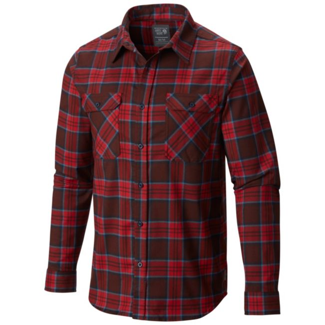 Best Flannel Shirts 2017: mountain hardwear stretchstone flannel