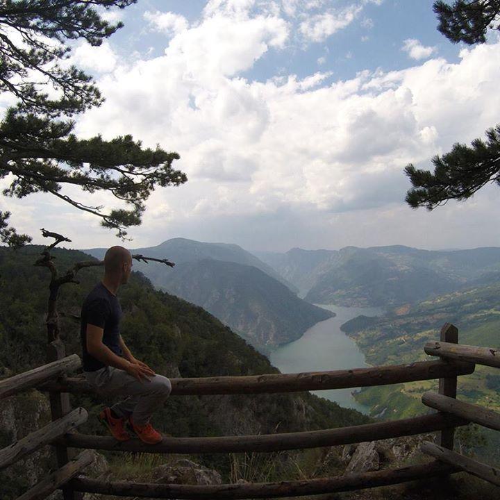 Tara national park in Serbia
