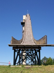 Copper Peak Ski Jump; photo by Cbradshaw at en.wikipedia. Licensed under CC BY-SA 3.0 via Commons