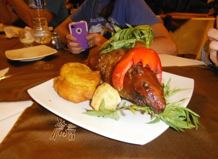 Guinea Pig for dinner
