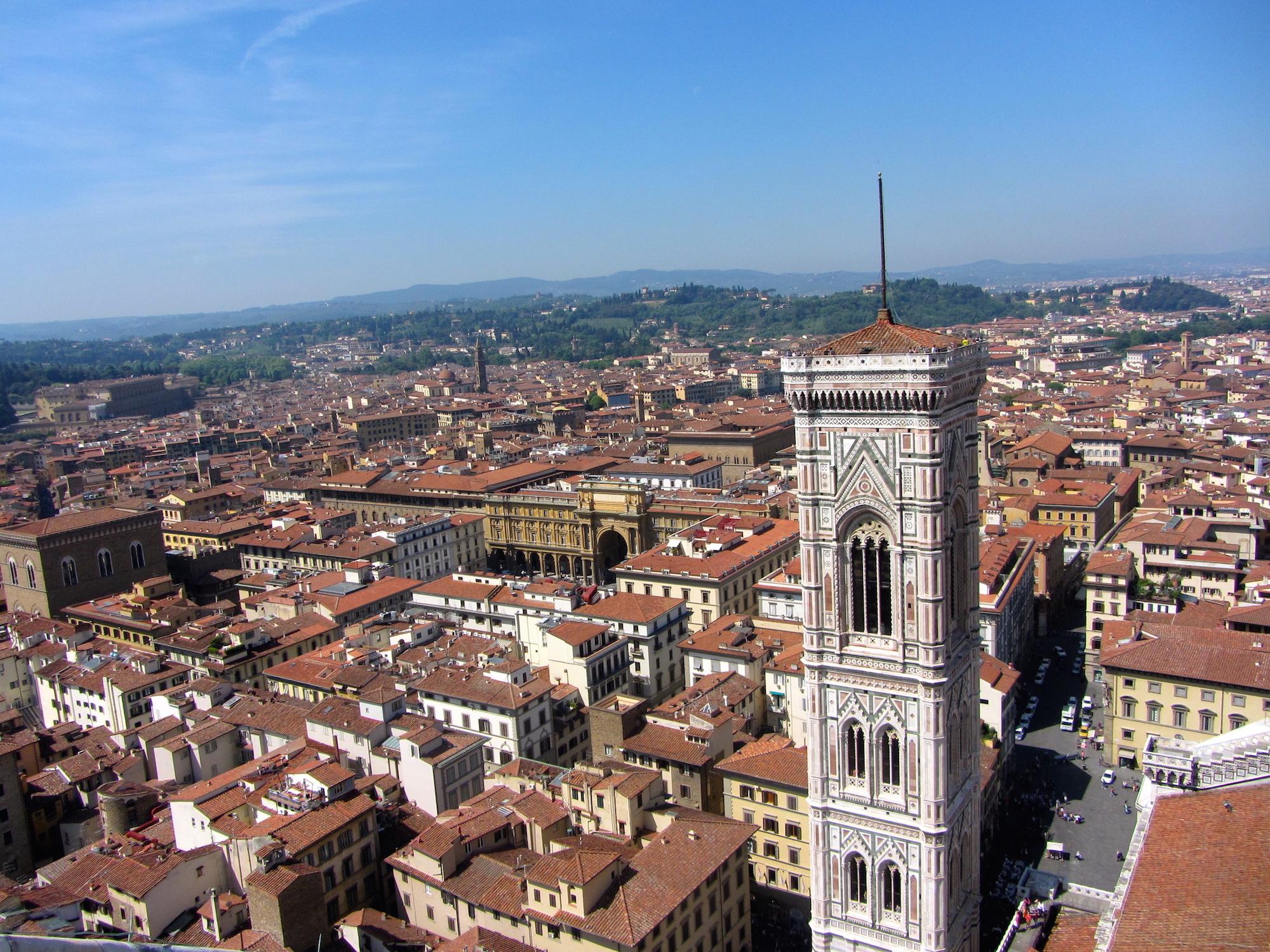 Overlook in Italy