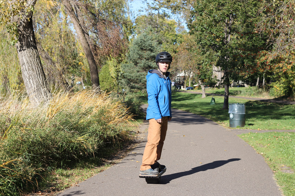 Riding Onewheel