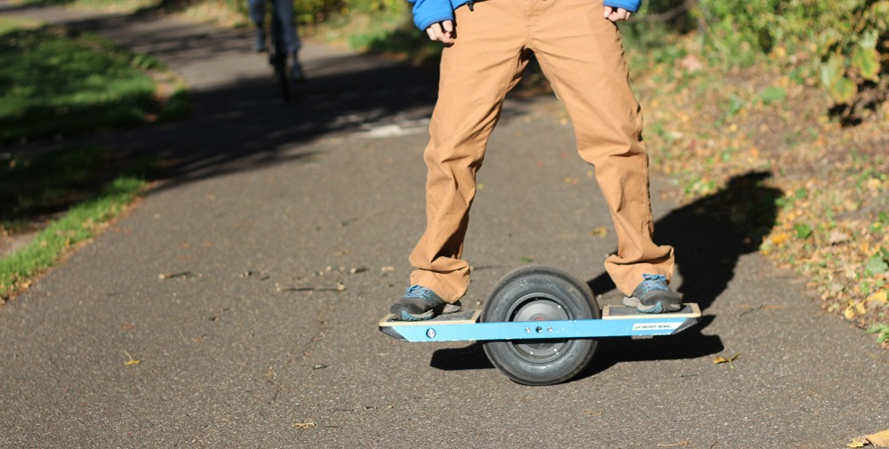 Balancing on Onewheel