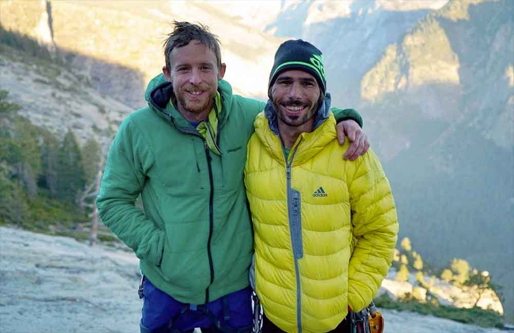 Atop the 'Dawn Wall,' after years of effort, Tommy Caldwell and climbing partner Kevin Jorgeson