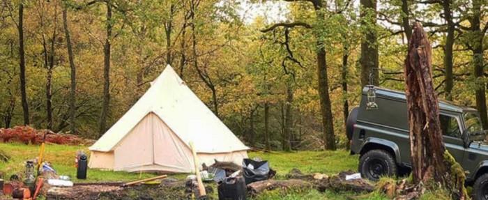 bell tent union washington