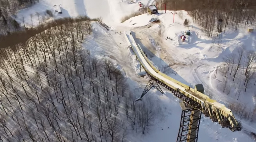 Largest Ski Jump In America Set To Reopen In 2017 | GearJunkie