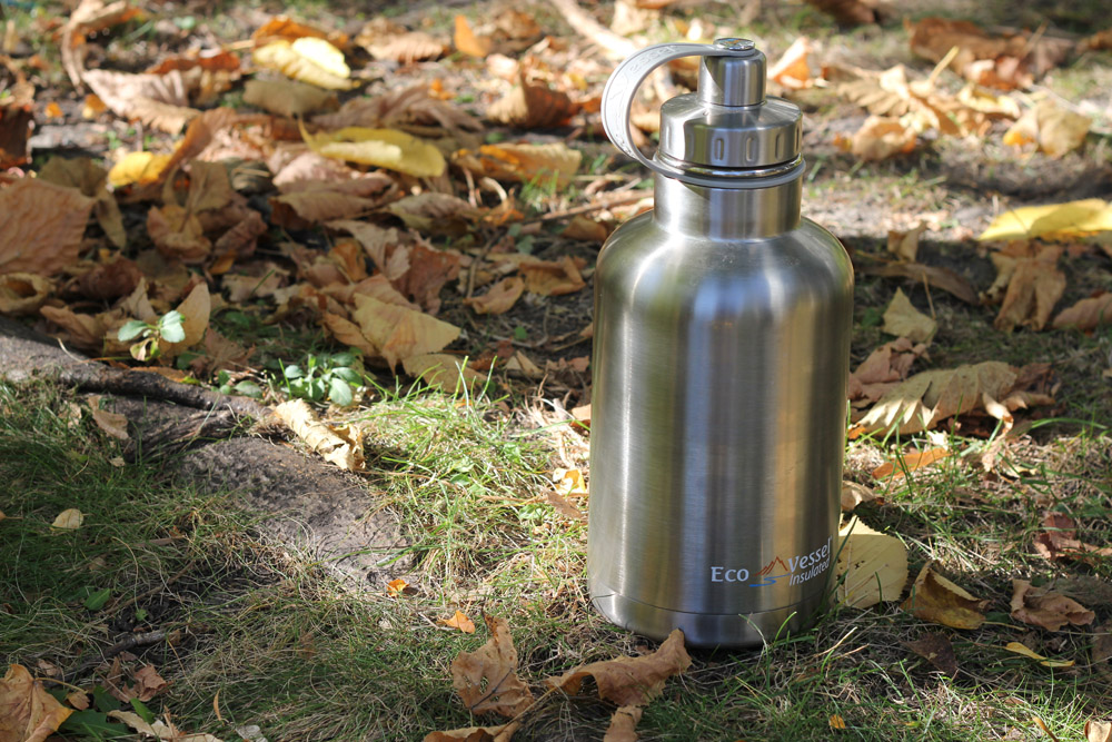 eco vessel stainless growler