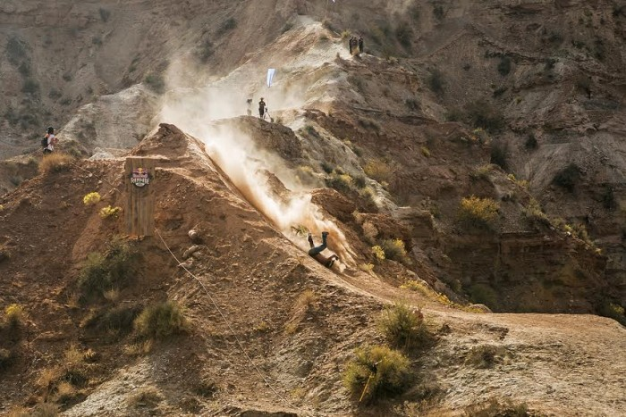 red bull rampage robbie
