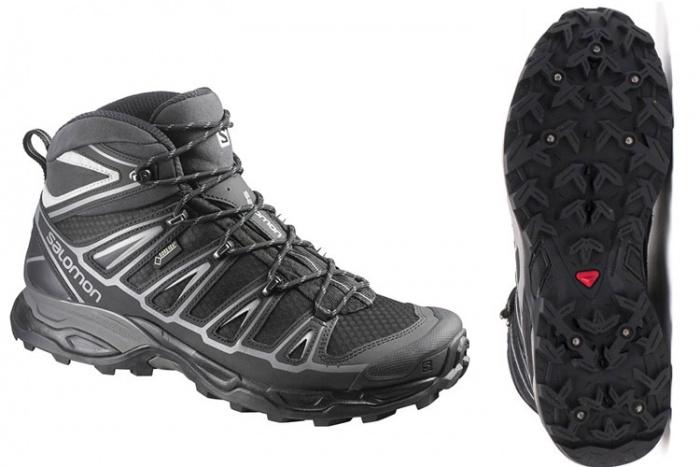 Salmon X Ultra Mid 2 Spikes GTX Men's Winter Hiking Boot