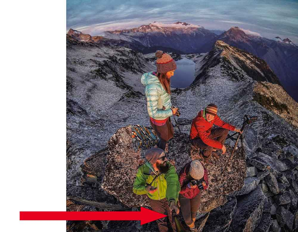 selfie-stick-mountain-top
